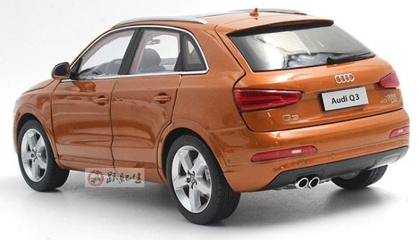 โมเดลรถ โมเดลรถเหล็ก โมเดลรถยนต์ Audi Q3 2013 orange 2