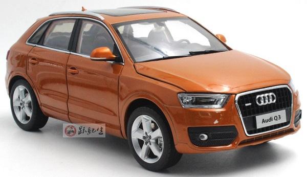 โมเดลรถ โมเดลรถเหล็ก โมเดลรถยนต์ Audi Q3 2013 orange 1