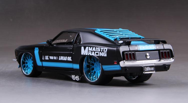 โมเดลรถ รถเหล็ก โมเดลรถเหล็ก โมเดลรถยนต์ Ford Mustang 1967 3