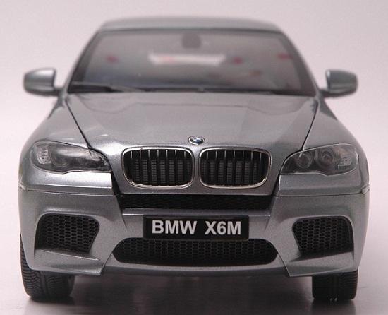 โมเดลรถ โมเดลรถเหล็ก โมเดลรถยนต์ BMW X6M grey 3
