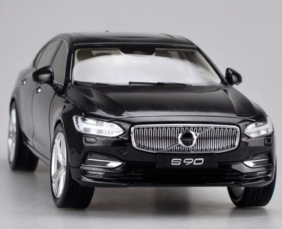 โมเดลรถ โมเดลรถเหล็ก โมเดลรถยนต์ Volvo S90 black 4
