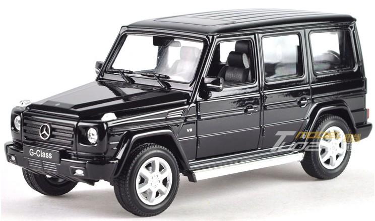 โมเดลรถ รถเหล็ก โมเดลรถเหล็ก โมเดลรถยนต์ Benz G500 ดำ 1