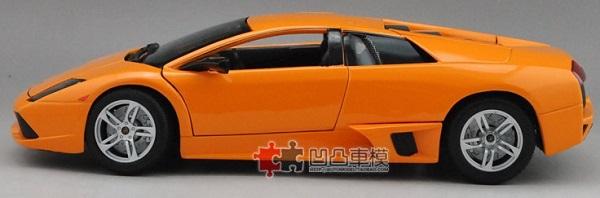 โมเดลรถ โมเดลรถเหล็ก โมเดลรถยนต์ Lamborghini LP640 orange 3