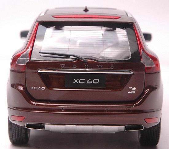 โมเดลรถ โมเดลรถเหล็ก โมเดลรถยนต์ Volvo XC60 brown 5