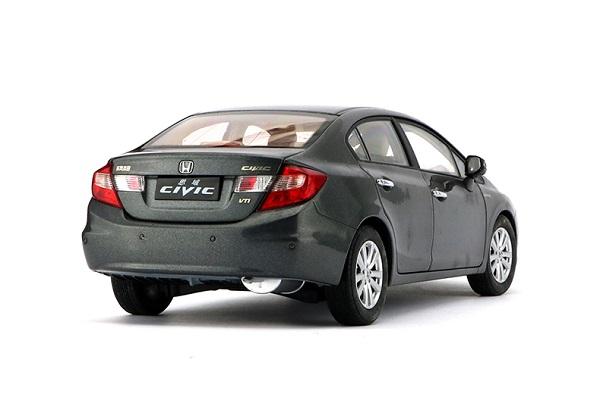 โมเดลรถ โมเดลรถเหล็ก โมเดลรถยนต์ Honda Civic 2009 9 gen dark grey 2