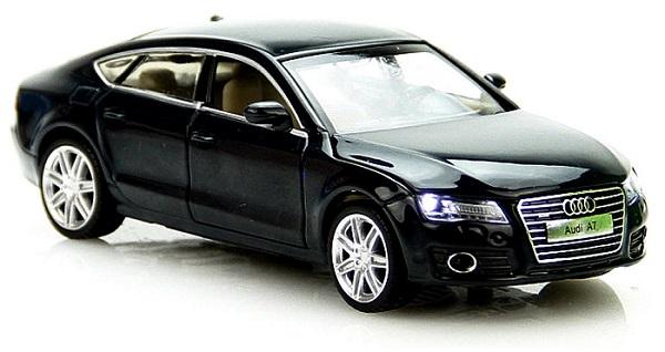 โมเดลรถเหล็ก โมเดลรถยนต์ Audi A7 4