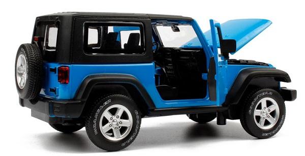 โมเดลรถเหล็ก โมเดลรถยนต์ Jeep Wrangler 5