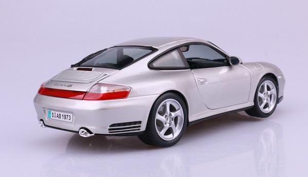 โมเดลรถ โมเดลรถเหล็ก โมเดลรถยนต์ Porsche 911 carrera 4S silver 4