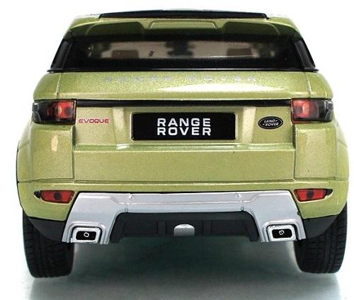 Land Rover Evoque 4 doors เขียวอ่อน 6
