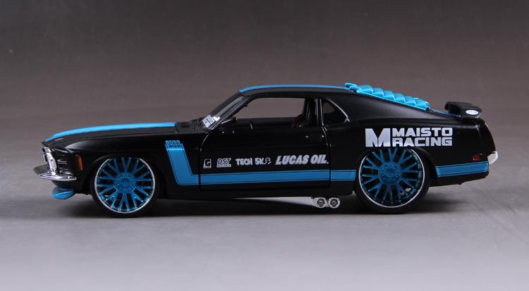 โมเดลรถ รถเหล็ก โมเดลรถเหล็ก โมเดลรถยนต์ Ford Mustang 1967 5
