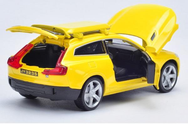 โมเดลรถเหล็ก โมเดลรถยนต์ Volvo XC 9