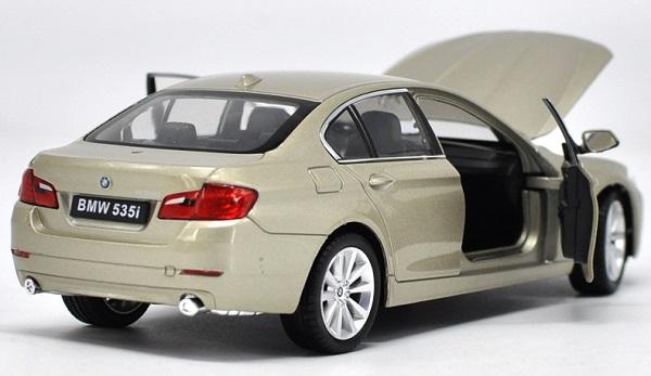 โมเดลรถ โมเดลรถยนต์ โมเดลรถเหล็ก bmw 535i gold 3