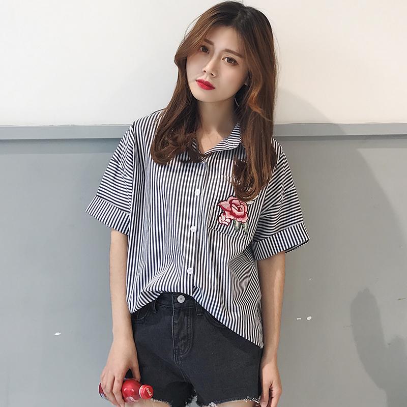 เสื้อเชิ้ตแฟชั่น น่ารักๆสไตล์เกาหลี