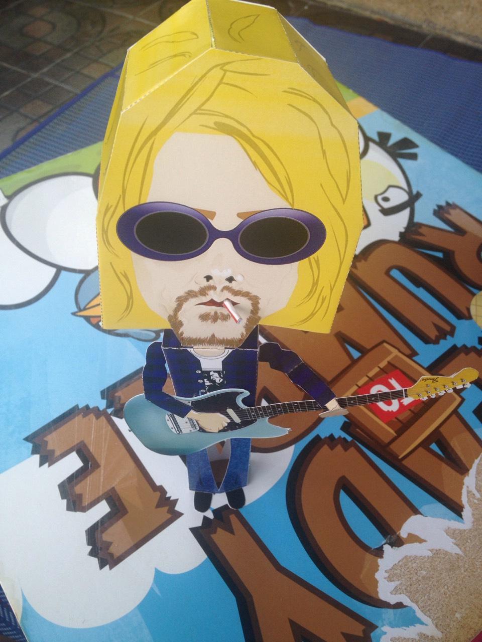 Kurt Donald Cobain NIRVANA