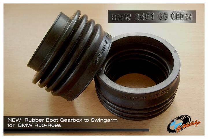ยางหุ้มหัวเพลา (ต่อกับหลังเกียร์) ของใหม่ (Germany) สำหรับ R50-R69s