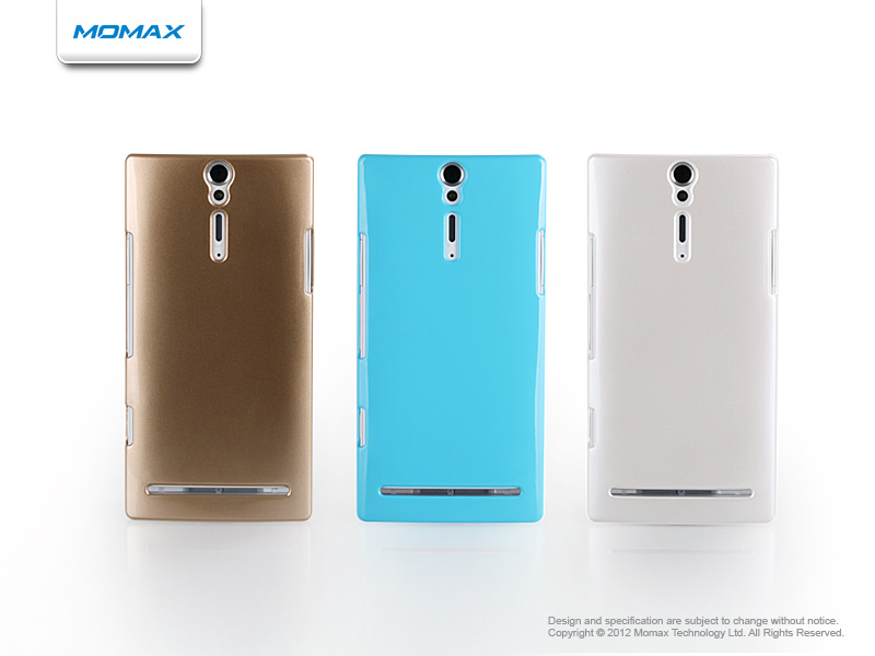 Case Momax Metallic Glossy for SONY Xperia S