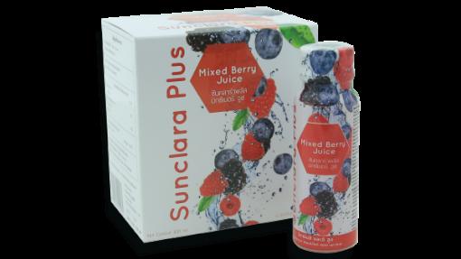 ซันคลาร่าพลัส มิกซ์เบอรี่ จูซ Sunclara Plus Mixed Berry Juice