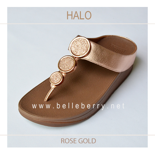 352750d1135 FitFlop   HALO   Rose Gold   Size US 8   EU 39 - รองเท้า fitflop ของแท้  รุ่นใหม่ พร้อมส่ง   Inspired by LnwShop.com
