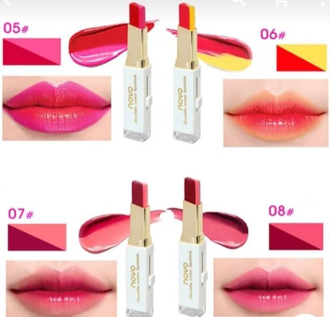 ลิปสติกนวัตกรรมใหม่ที่ดีกว่าด้วย 2 สี และ 2 เนื้อสัมผัส ที่ไม่ใช่แค่จะทาริมฝีปากให้ดูมี มิติเพียงอย่างเดียว แต่ยังสามารถช่วยให้ริมฝีปากหนาและดูบางลงได้ พร้อมเสริมเสน่ห์ให้ริมฝีปากดูอวบอิ่ม ฉ่ำวาว และน่าดึงดูด