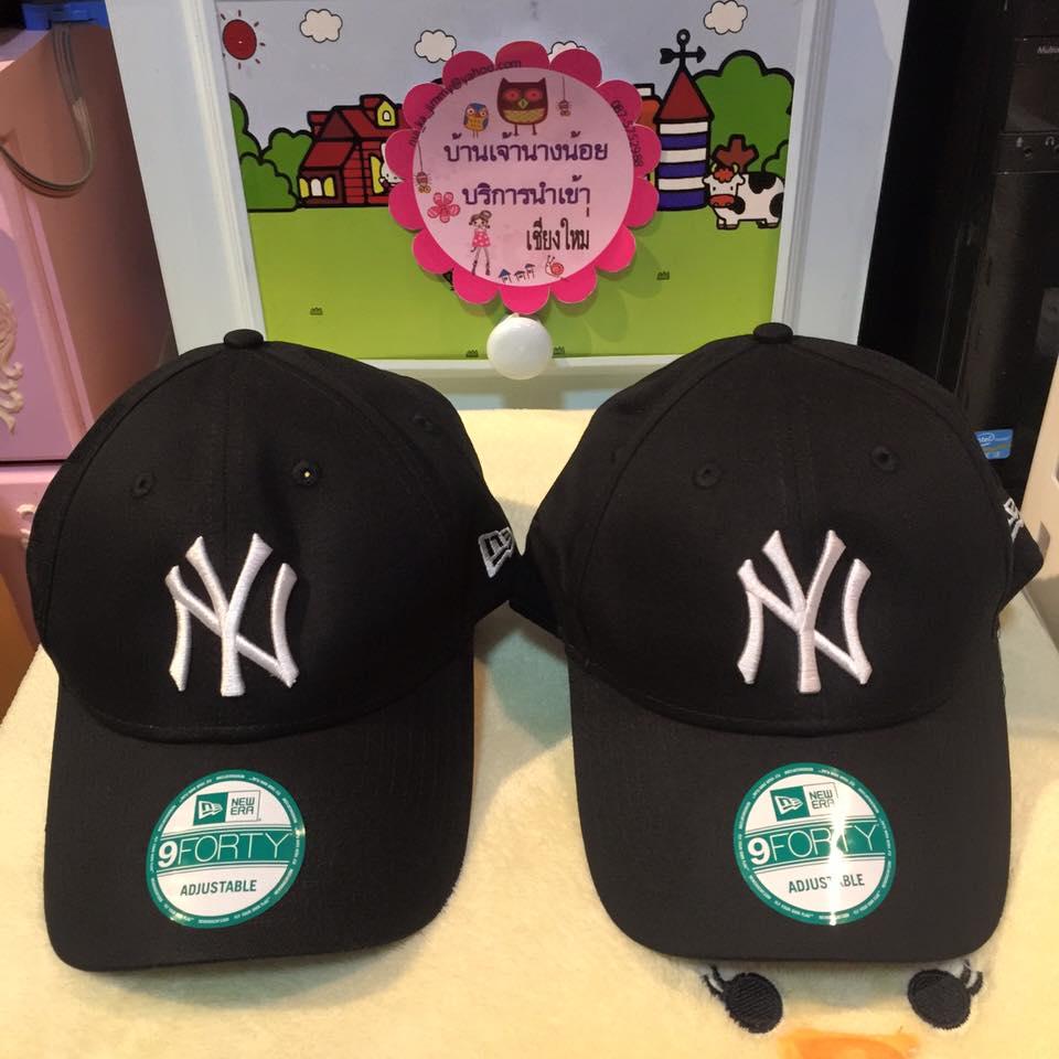 (พรีออเดอร์) New Era 9Forty NY Adjustable Cap Black