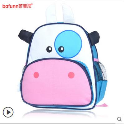 (โคนม) กระเป๋าเป้ zoo pack พิเศษรุ่นซิปเป็นรูปสัตว์ตามแบบกระเป๋าค่ะ