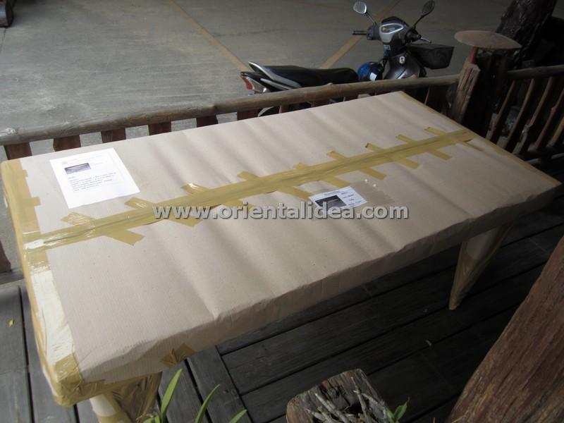โต๊ะอาหารไม้สัก TB-01T