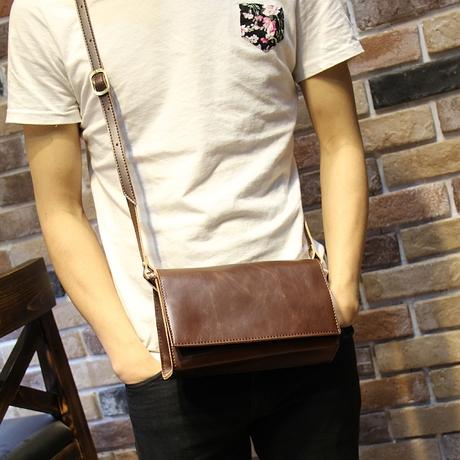 กระเป๋าผู้ชาย   กระเป๋าหนังแฟชั่นชาย กระเป๋าสะพายข้าง แฟชั่นเกาหลี