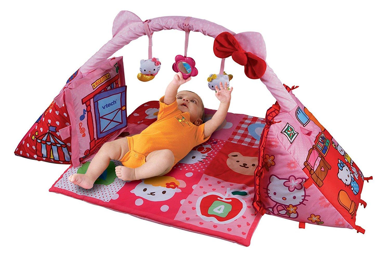 VTech Baby Hello Kitty 2-in-1 Playmat Cube ของแท้ ส่งฟรี EMS