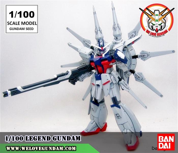 1/100 SCALE MODEL LEGEND GUNDAM