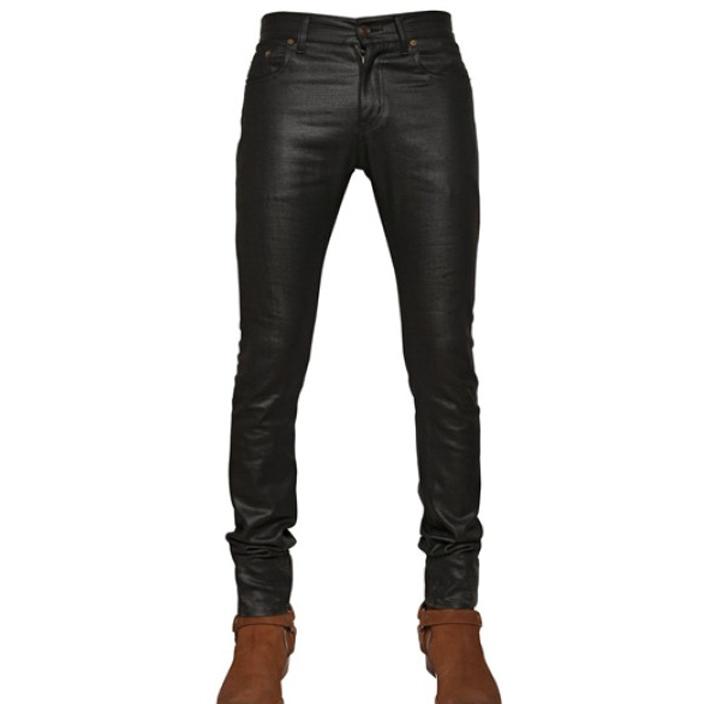 กางเกงยีนส์SAINT LAURENT COATED SIZE32 มีสินค้า