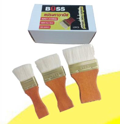 แปรงทาวานิช BUSS ขนาด 4 cm