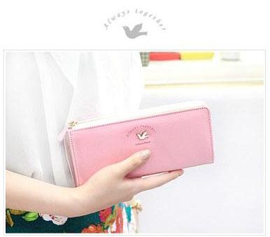 กระเป๋าสตางค์ Line Zipper Wallet L [แบบซิปปิด 2 ด้าน]