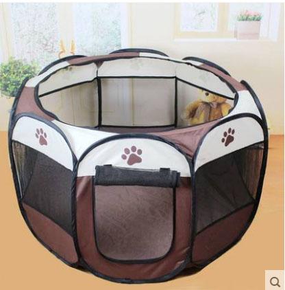 คอกสุนัขและแมว บ้านสุนัขและแมว กันยุง พับได้ น้ำหนักเบา พกพาสะดวก มีหลายสี ระบายอากาศได้ดี สำหรับสัตว์เลี้ยงพันธุ์เล็ก