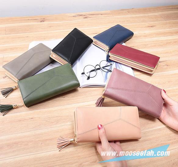 กระเป๋าสตางค์ Piece 2 Way wallet Size L