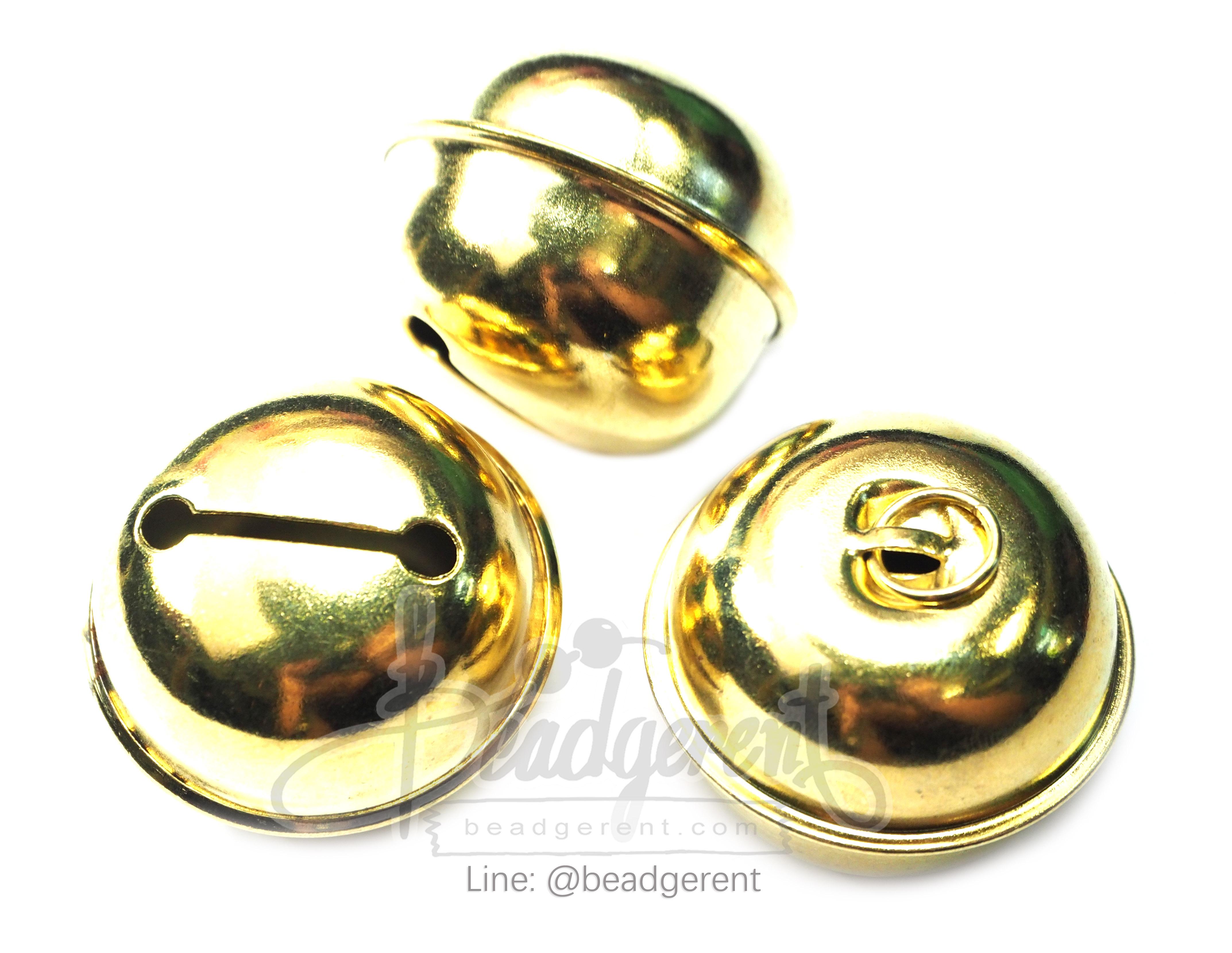 กระพรวน s39 39*31มม. สีทอง (20 ชิ้น)