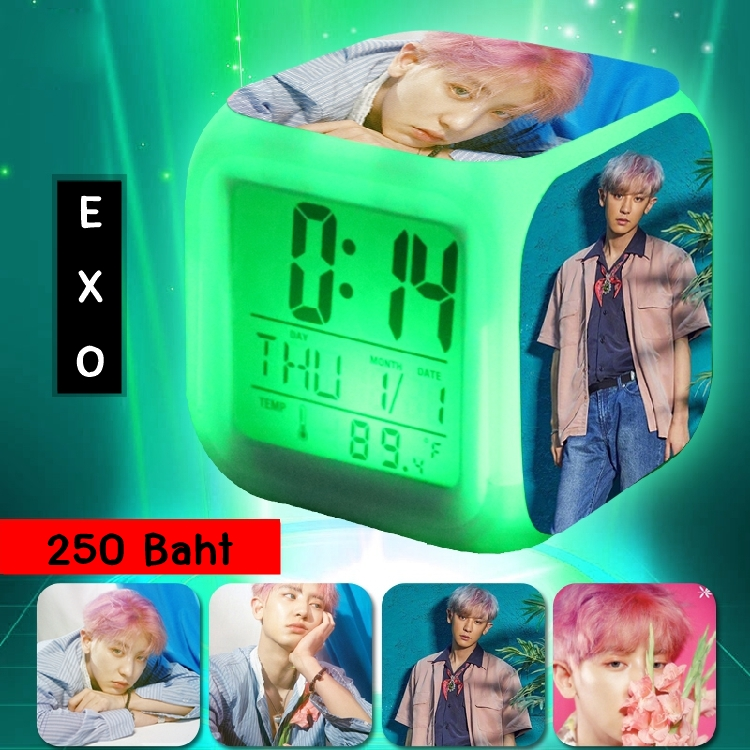 นาฬิกา LED CHANYEOL EXO KOKOBOP