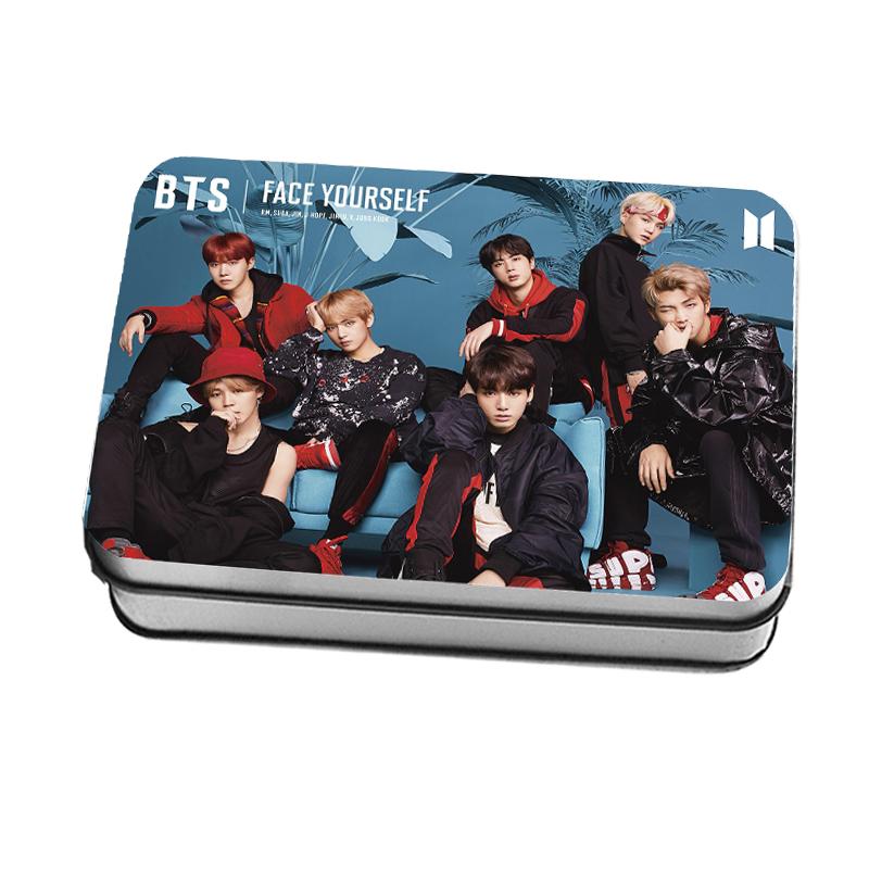 LOMO CARD+กล่องเหล็ก BTS FACE YOURSELF
