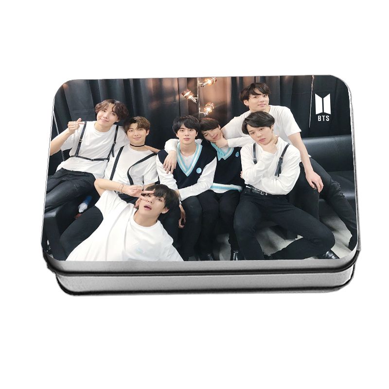 LOMO CARD+กล่องเหล็ก BTS 40 รูป