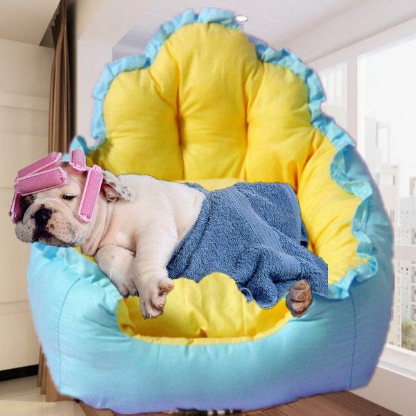 ที่นอนแมว ที่นอนสุนัข หนานุ่ม ระบายอากาศดี มีหลายขนาด
