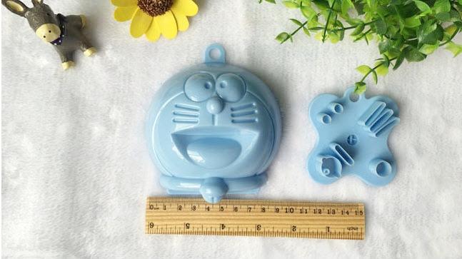 D.I.Y Doraemon Mold พิมพ์กดข้าวรูปโดเรม่อน พร้อมที่กดสาหร่าย