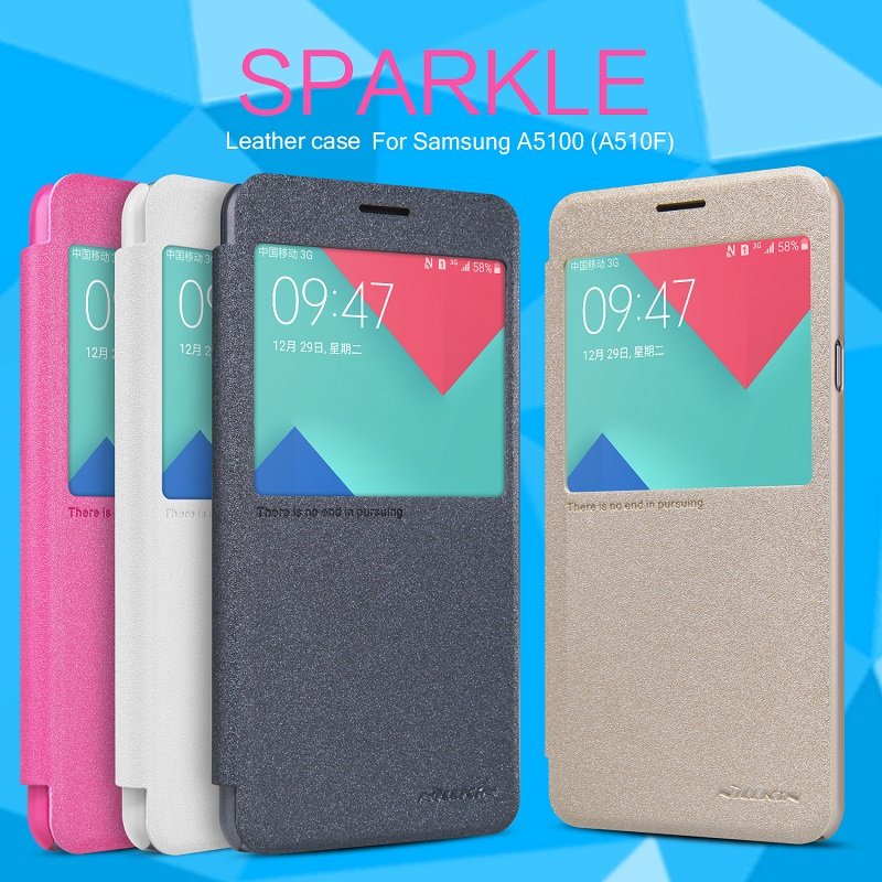 เคส Samsung Galaxy A5 2016 ของ Nillkin Sparkle Leather Case