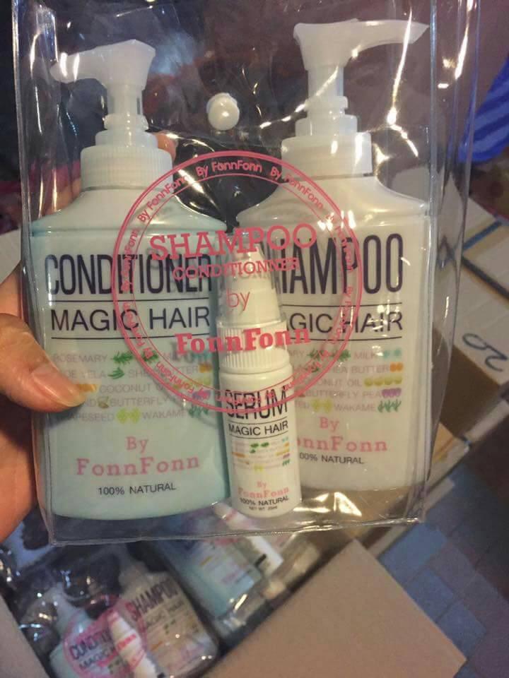Magic Hair by FonnFonn (เมจิก แฮร์ บายฝนฝน) แก้ปัญหาผมร่วง
