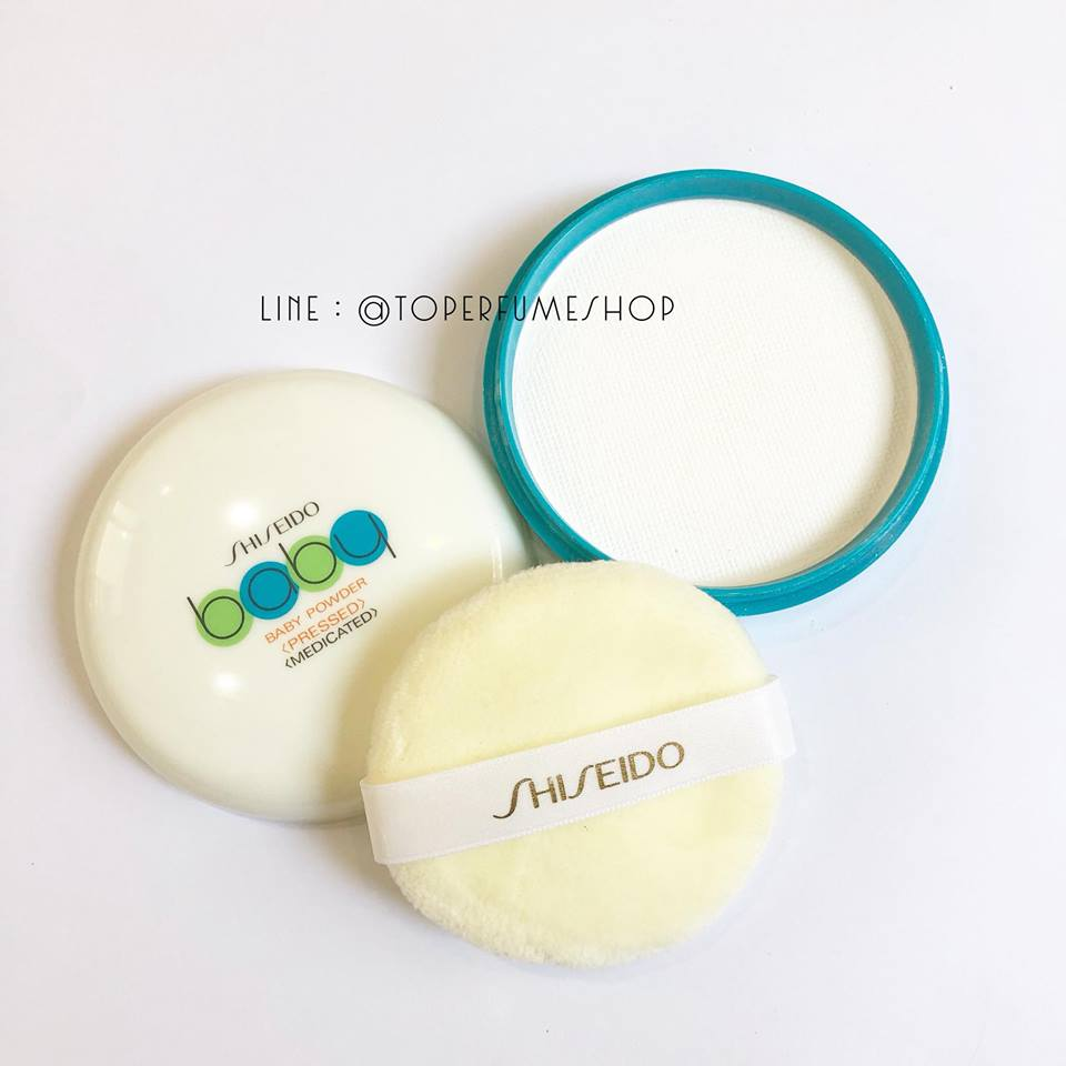 แป้ง Shiseido Baby Powder Pressed Medicate 50 กรัม