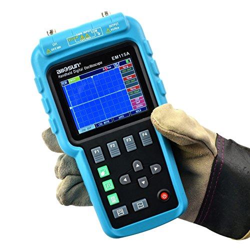 ออสซิลโลสโคป Oscilloscope+ Multimeter+ Signal Generator รุ่น EM115A 50MHZ 200MSa/S