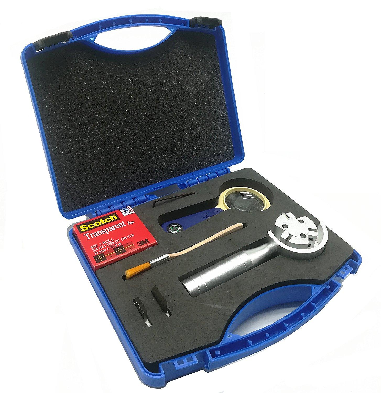 ชุดทดสอบการยึดเกาะสี (Film cross-cut device) แบบ Rotary 3 ใบมีด,QFH-A Rotary Type Film Adhesion Tester Paint Film Scriber 3-in-1 Rotating Cross Hatch Adhesion Tester Cross Cutter Cross-Cut Tester Kit with 1mm/2mm/3mm blades