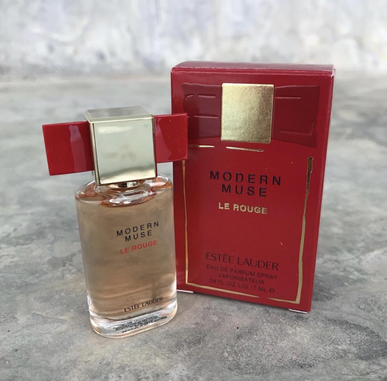 น้ำหอมจิ๋ว Estee Lauder Modern Muse Le Rouge ขนาด 7ml. ของแท้ 100%