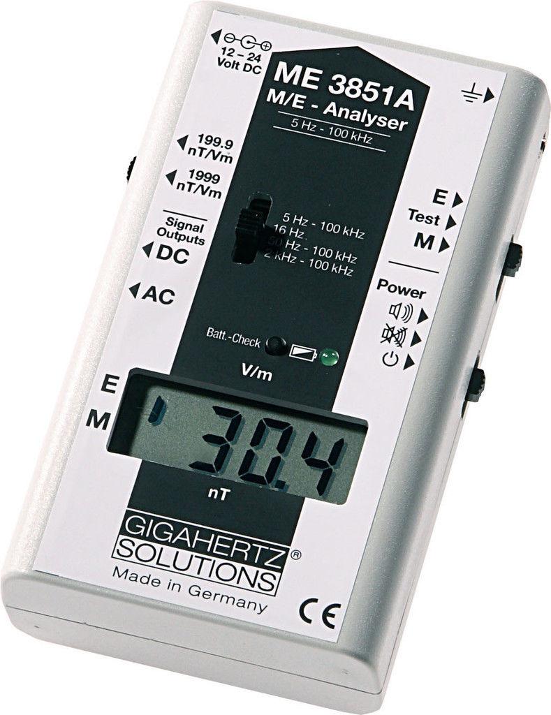 เครื่องวัดสนามแม่เหล็ก(Digital EMF Meter) รุ่น ME3851A จากเยอรมันนี