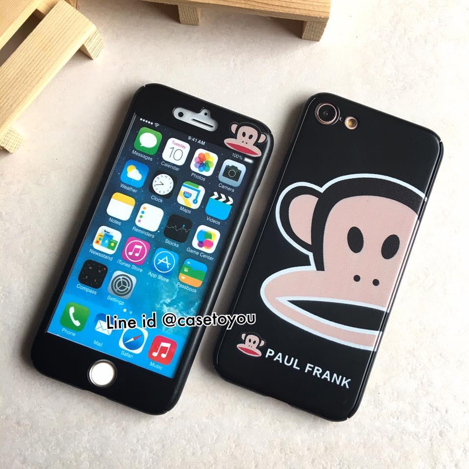 เคสประกบ 360 องศา Paulfrank black iPhone 7