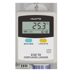 เครื่องบันทึกอุณหภูมิและความชื้น (Temperature and Humidity Data Logger) ยี่ห้อ Huato รุ่น S100 เซนเซอร์ผลิตจาก สวิตเซอแลนด์