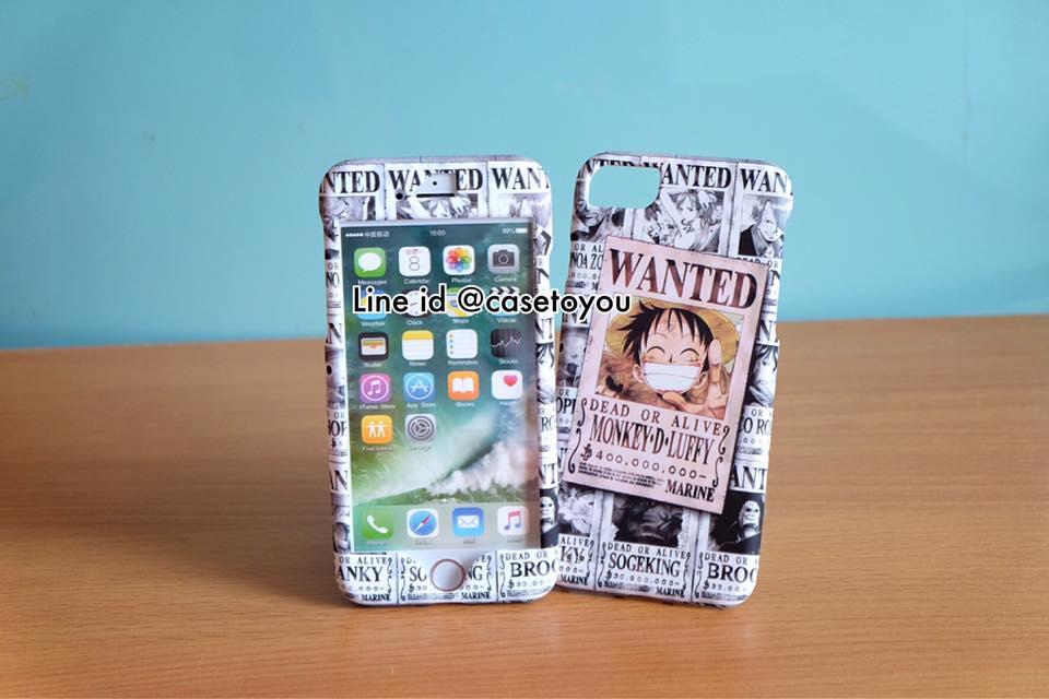 เคสประกบหน้า-หลัง Onepiece 02 สำหรับ iPhone 7